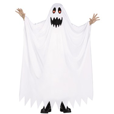 Fade In & Out Ghost Costume For Kids