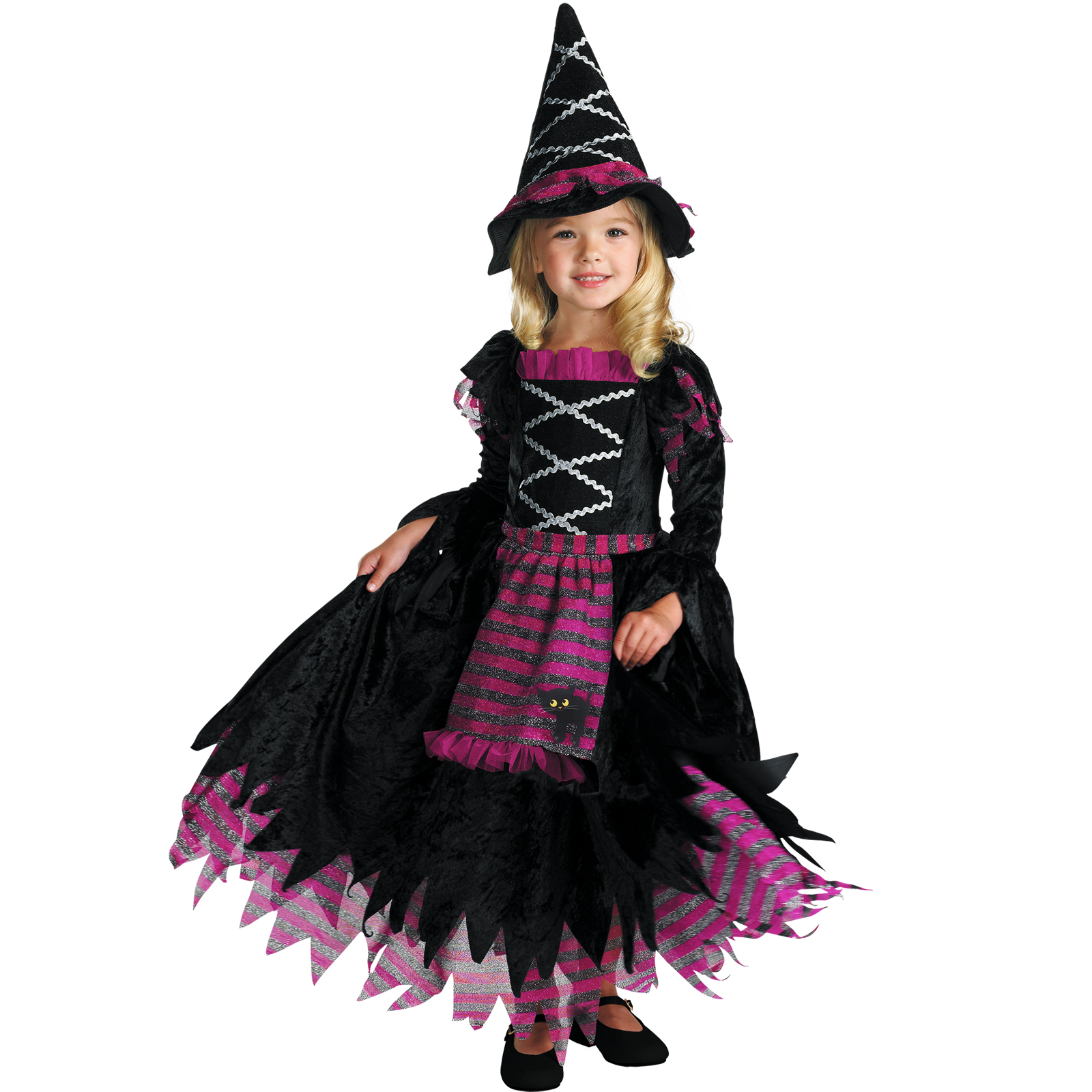 Pretty Witch Makeup For Kids