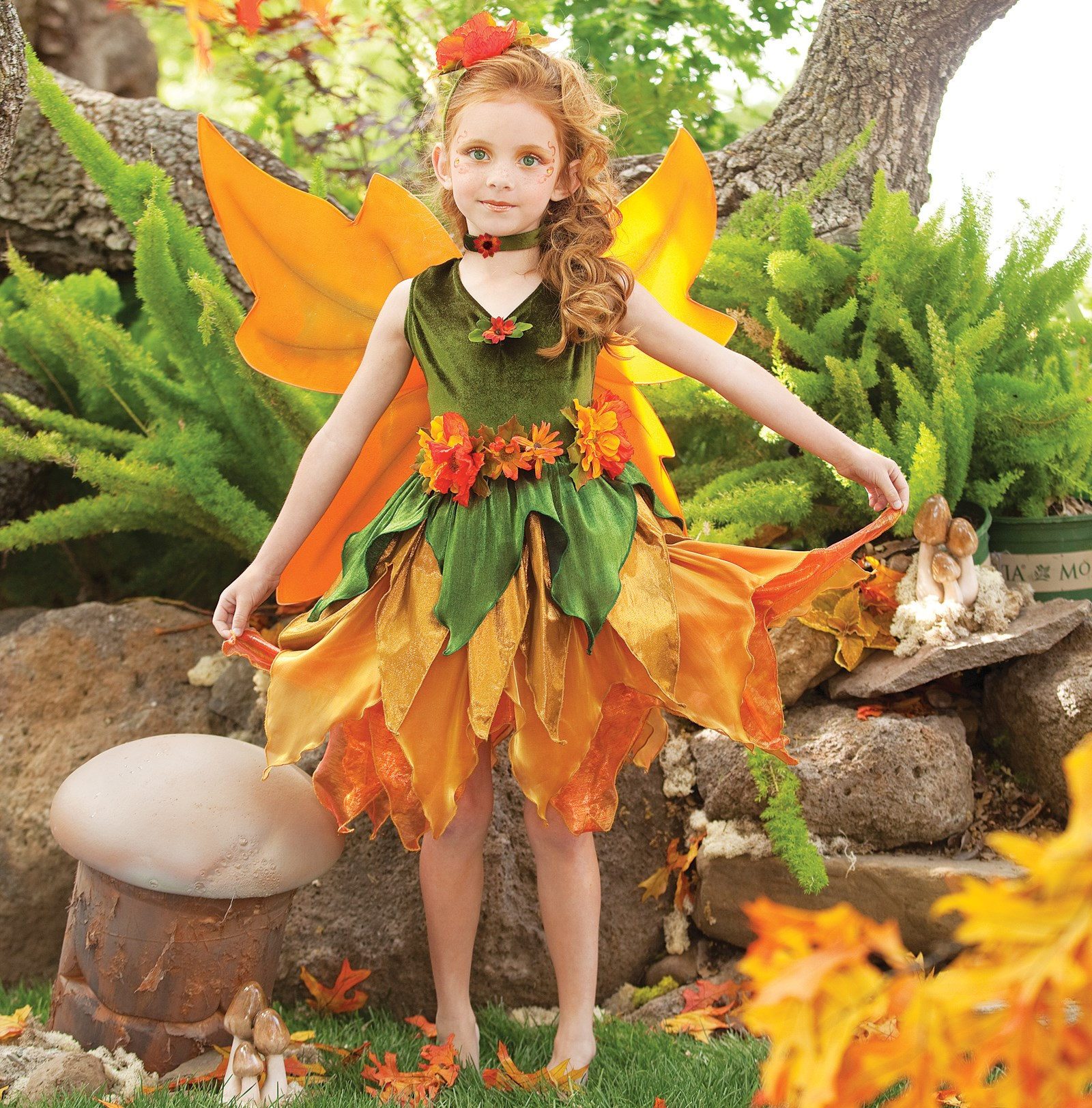 Осенняя мода на осенний бал фото