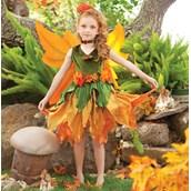 Fall Fairy Child Costume