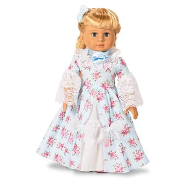 """Fancy Early American 18"""" Doll Dress"""