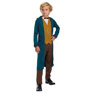 Fantastic Beasts and Where to Find Them Newt Scamander Child Costume