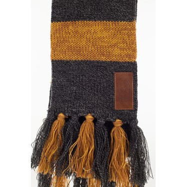 Fantastic Beasts Newt Hufflepuff Knit Scarf for Adults