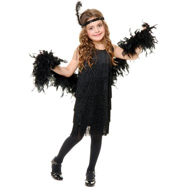 Fashion Flapper Child Costume