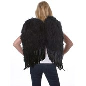 Feather Wings- Black