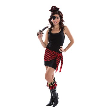 Female Adult Pirate Kit