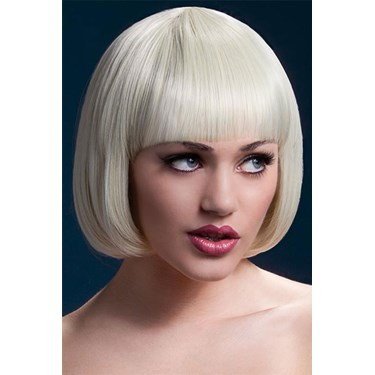 Fever Mia Short Blonde Wig With Bangs