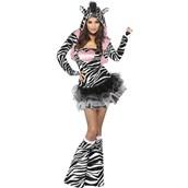 Fever Zebra Adult Animal Costume