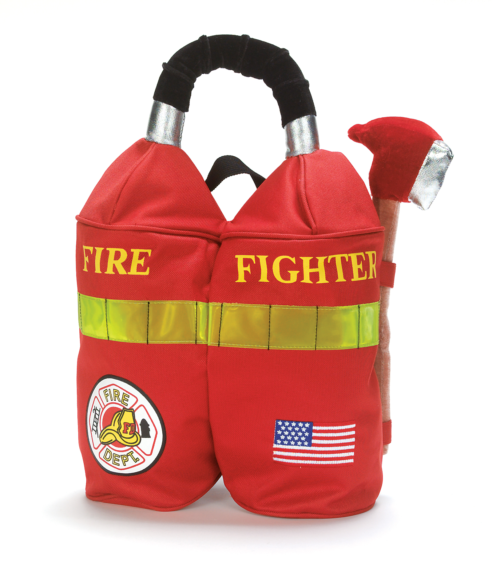 Fireman Child Accessory Kit Firefighter Backpack Child Bc