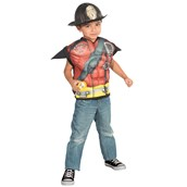 Fireman Muscle Shirt Set