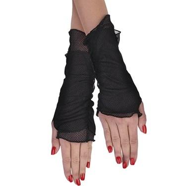 Fishnet Glovelettes