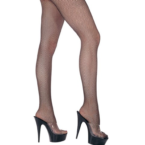 Fishnet Pantyhose Standard Black