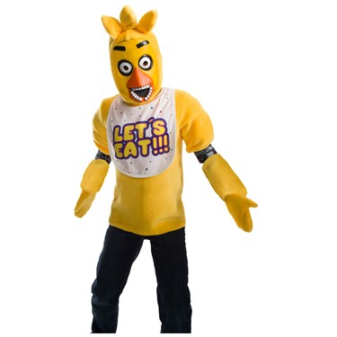 Five Nights At Freddy's Chica Deluxe Child Costume
