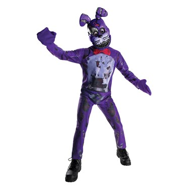 Five Nights at Freddys: Nightmare Bonnie Child Costume