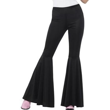 Flared Trousers Black Women's