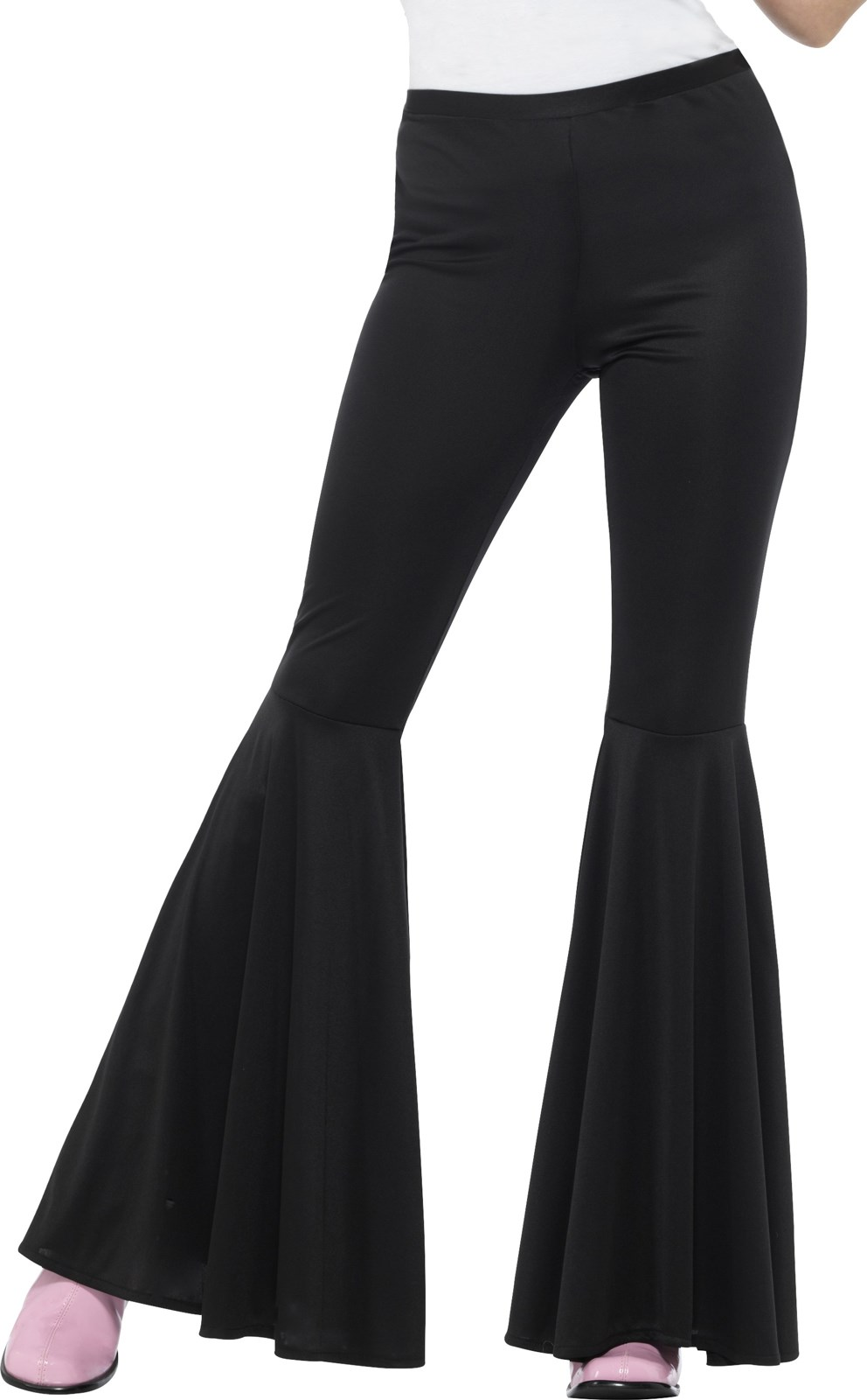 Flared Trousers Black Women S Buycostumes Com