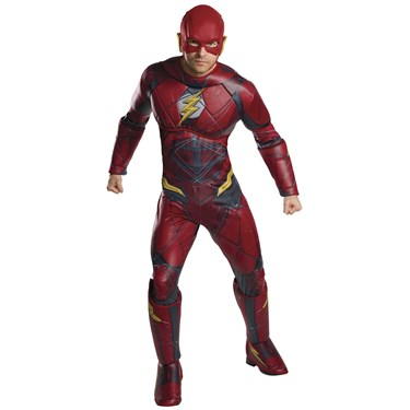 Flash Deluxe Adult Costume