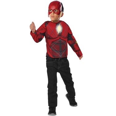 Flash Light Up Costume Top Set Child One Size