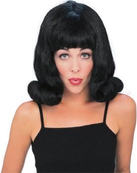 Flip Wig (Black) Adult