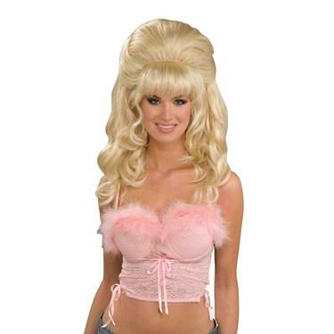 Flirty Fantasy Adult Wig- Blonde