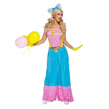 Floppie The Clown - Adult Costume