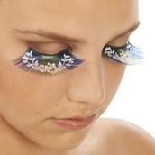 Floral Eyelashes