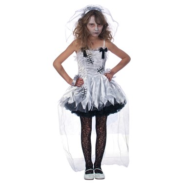 Flower Girl Zombie Costume