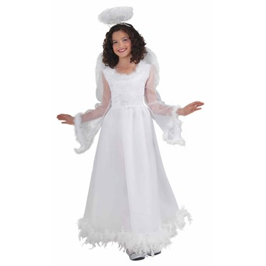 Fluttery Angel Child Costume