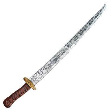 Brown Handle Foam Sword