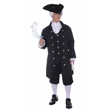 Founding Father Adult Plus Costume