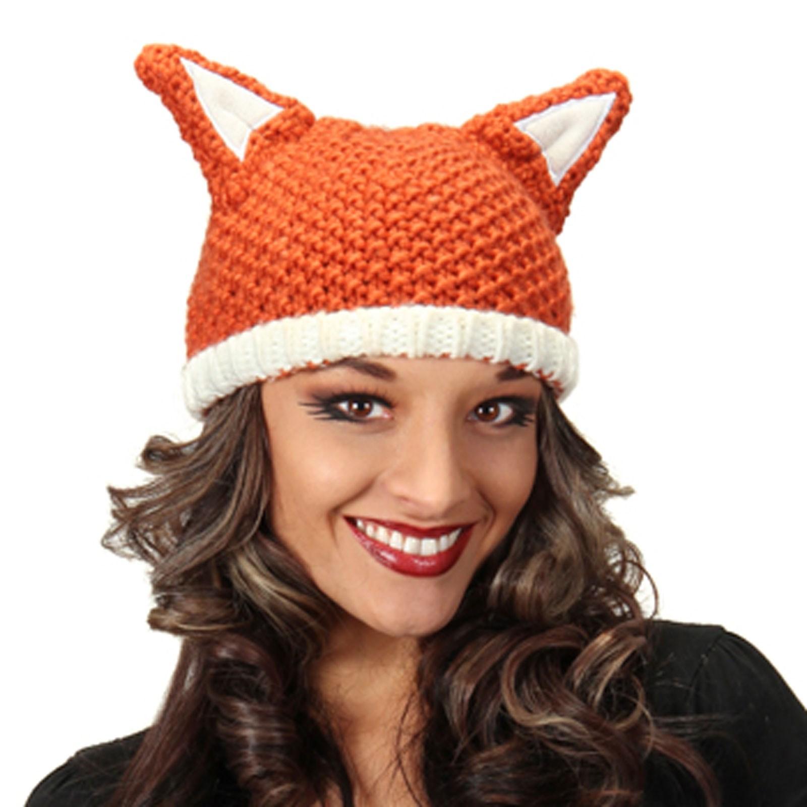 Knit Fox Beanie