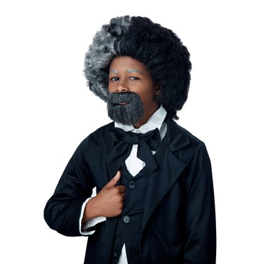 Frederick Douglass Child Wig and Goatee