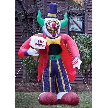 Free Candy Clown 8' Airblown