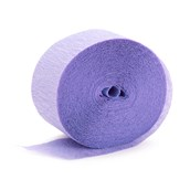 French Violet Crepe Streamer - 81'
