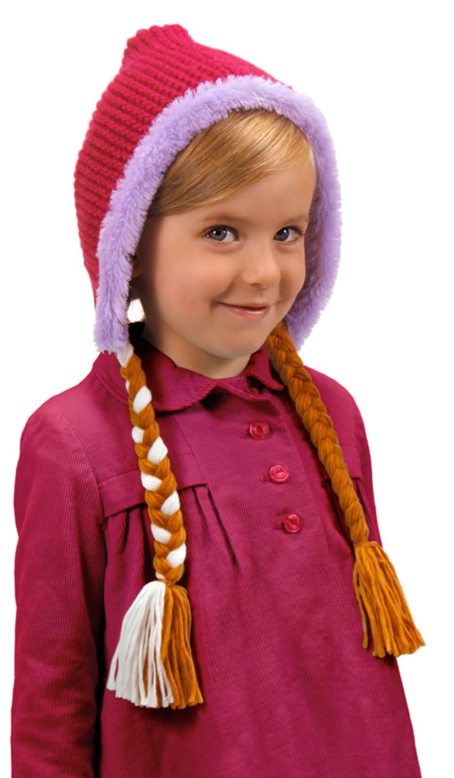 Frozen Anna Hoodie Hat For Girls