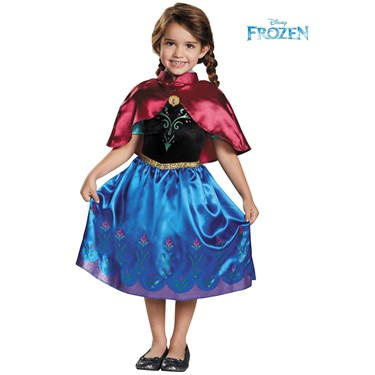 Frozen - Anna Traveling Toddler Classic Costume