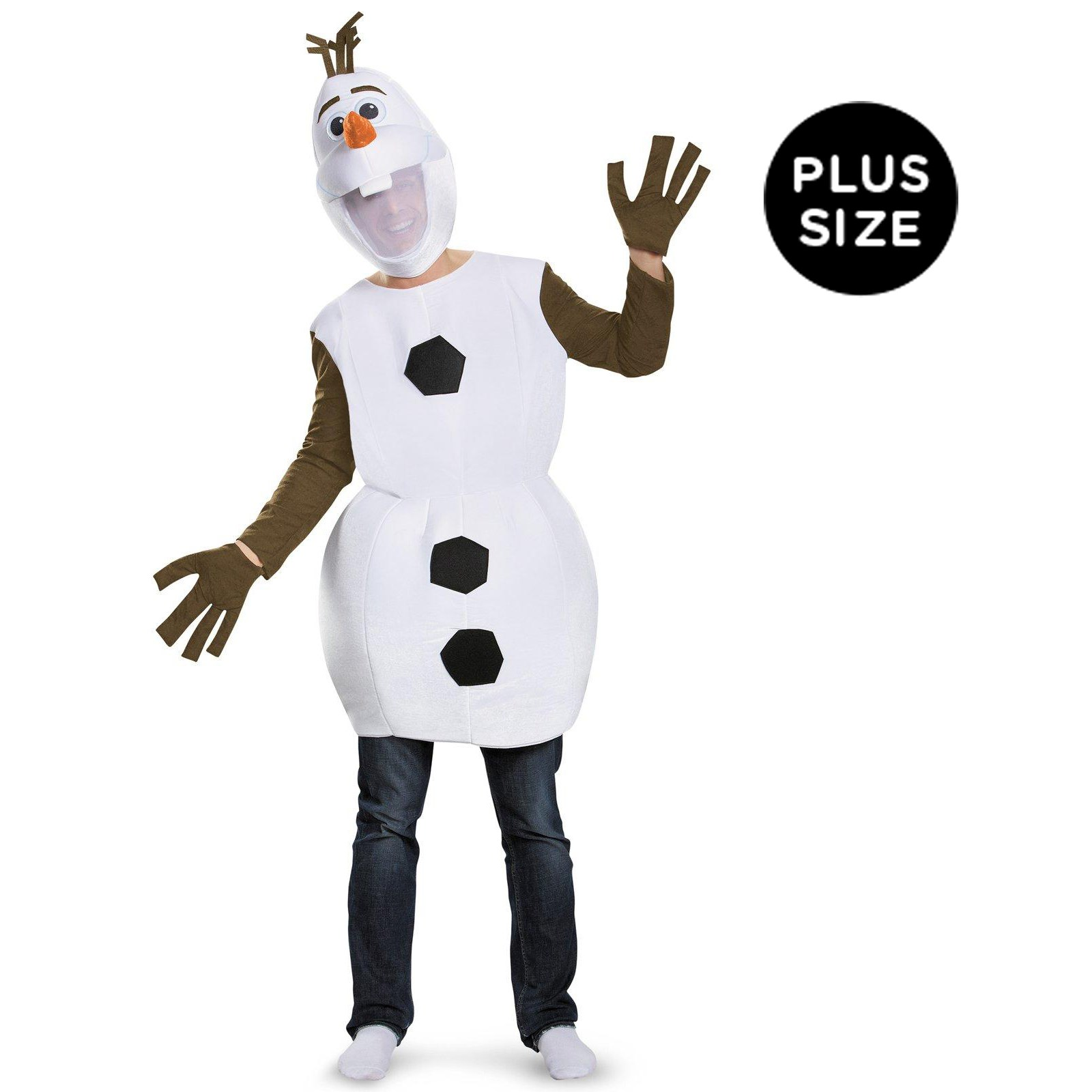 Frozen: Deluxe Olaf Adult Plus Costume