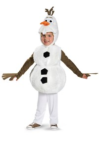 Click Here to buy Frozen - Deluxe Olaf Baby & Toddler Costume from BuyCostumes