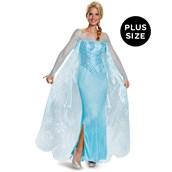 Frozen: Elsa Prestige Plus Size Costume For Women