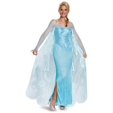 Frozen: Womens Prestige Elsa Costume