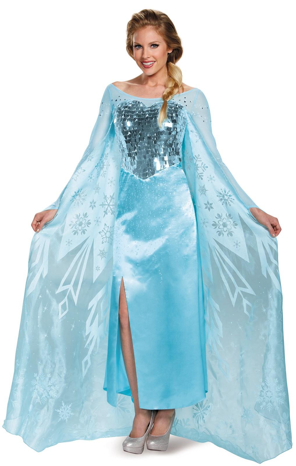 Frozen: Womens Ultra Prestige Elsa Costume