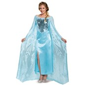 Frozen: Womens Ultra Prestige Elsa Costume