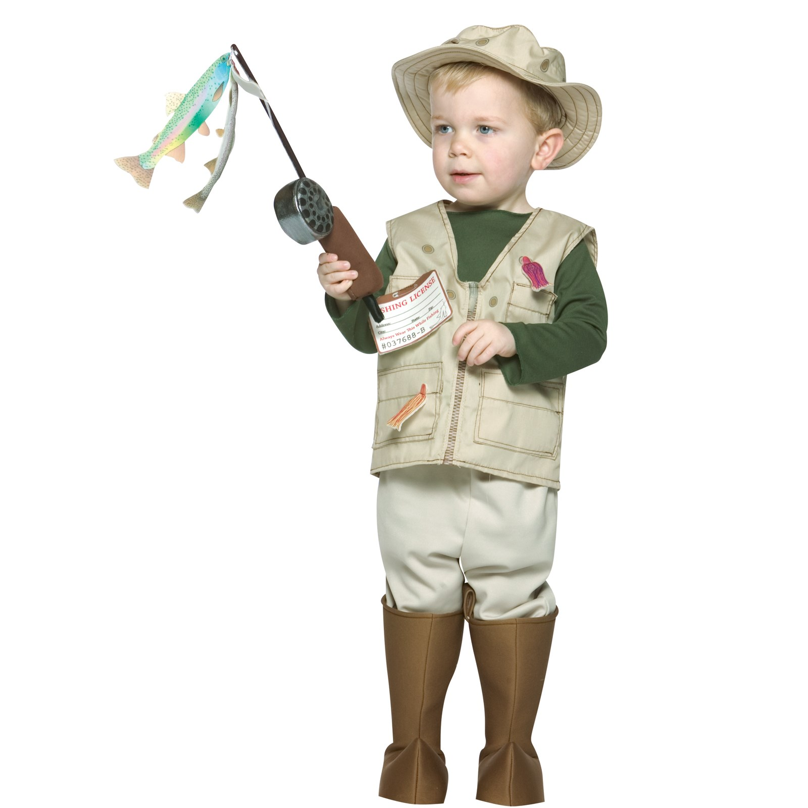 Future Fisherman Toddler Costume | BuyCostumes.com