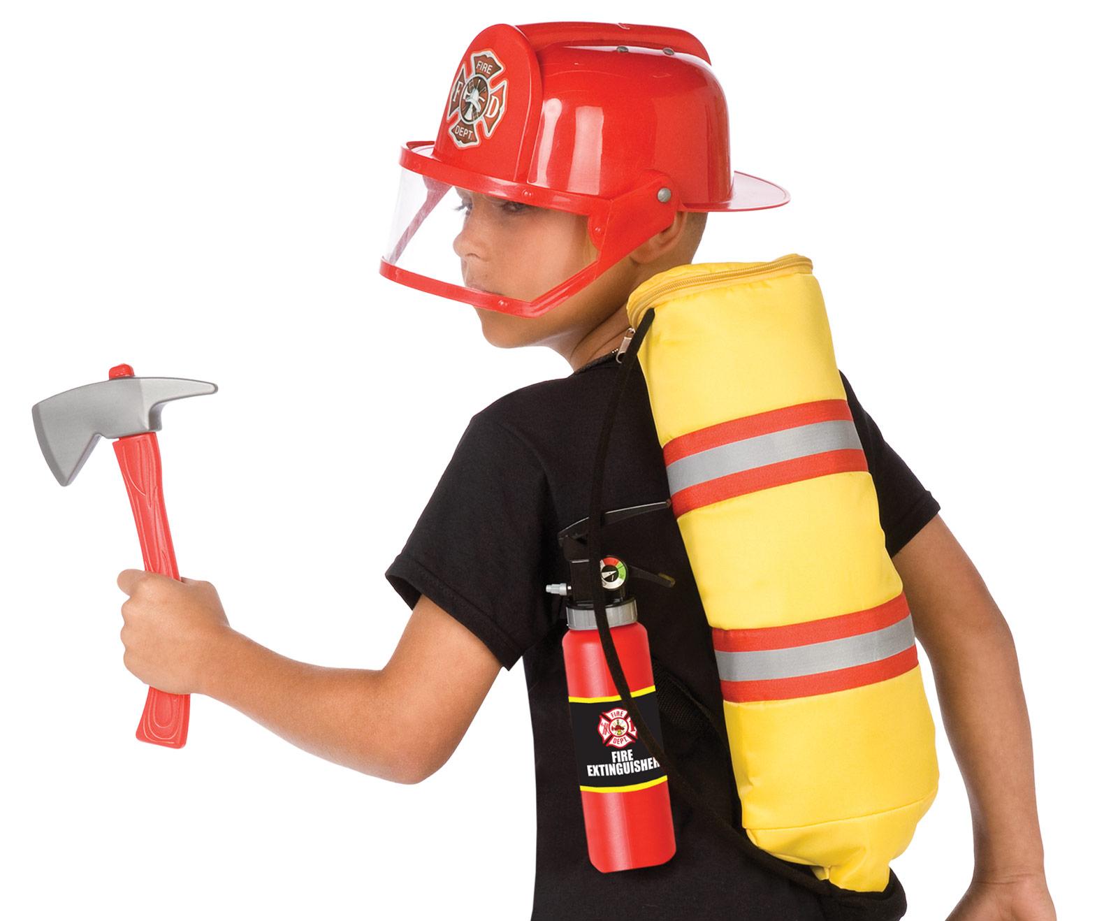 Fireman Child Accessory Kit Gear To Go Fireman Adventure Play Set Bc