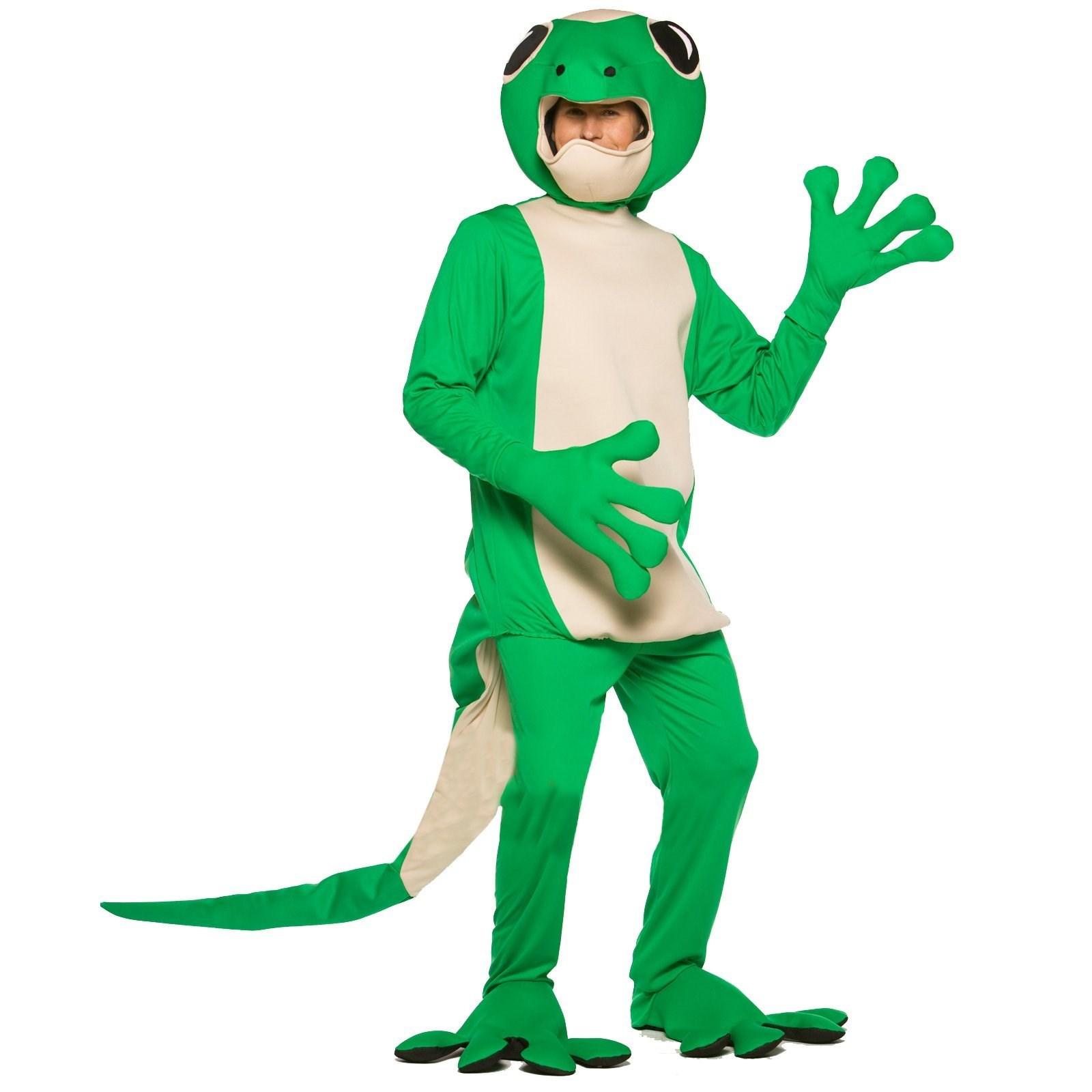 adult gecko costume