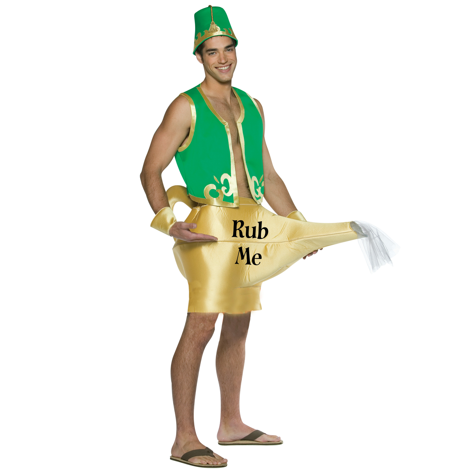Marvelous Genie In The Lamp Adult Costume