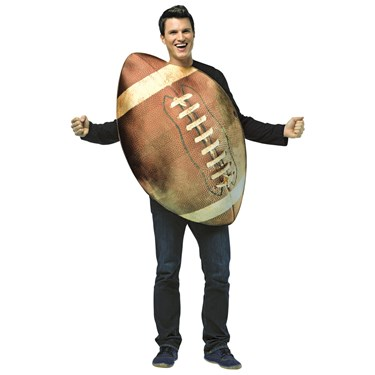 Get Real Football Adult Costume