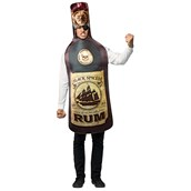 Get Real Rum Bottle Adult Costume