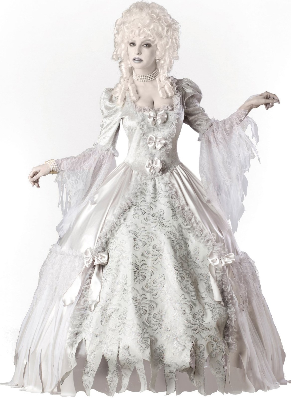 Ghost Lady Elite Collection Adult Costume | BuyCostumes.com