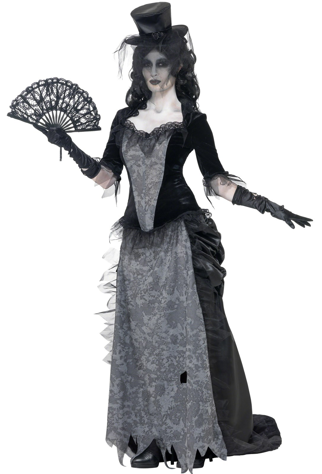 Ghost Town Black Widow Adult Costume | BuyCostumes.com